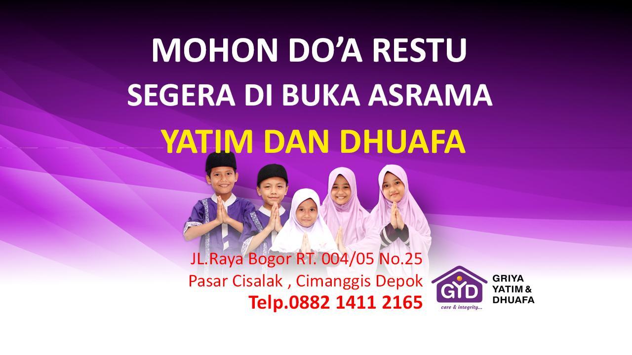 Mohon Doa Restu