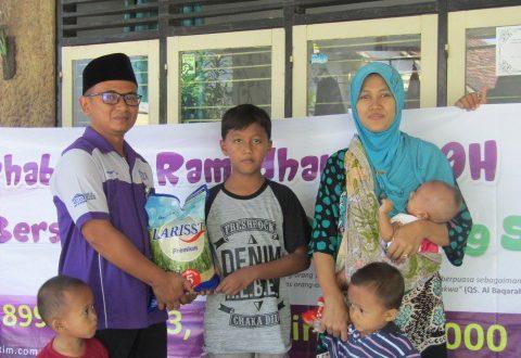 Semangat Menyambut Ramadhan 1439 H dengan Berbagi