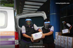 Bantuan APD Untuk RSU Kota Tangerang⠀