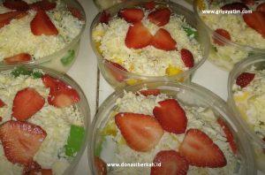 Anak Asuh Binaan Membuat Makanan Sehat