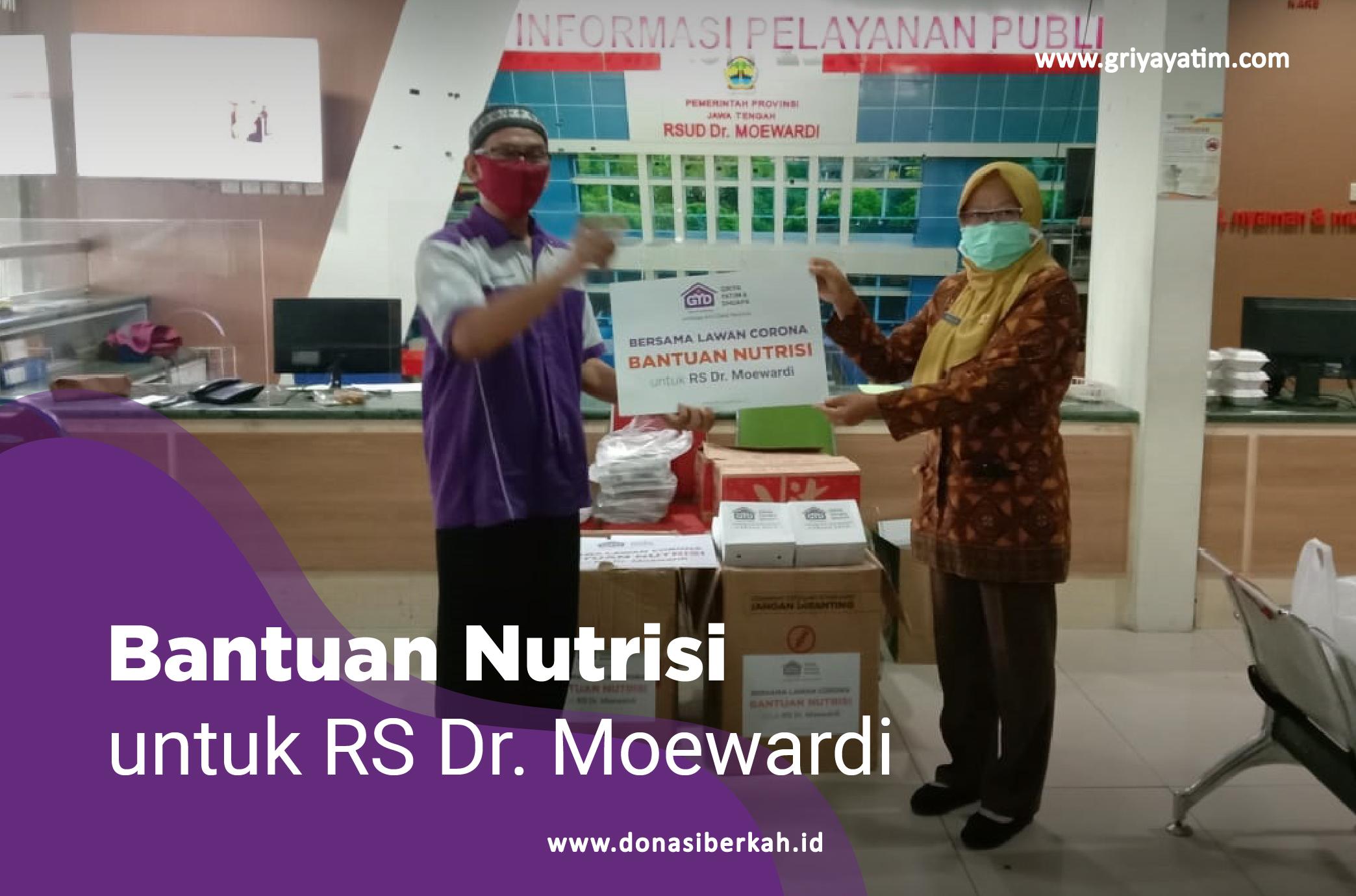 Bantuan Nutrisi Untuk Rs Dr. Moewardi
