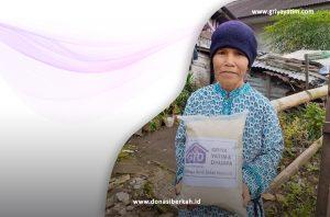 Bantuan Beras untk Lansia