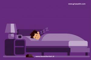 Efek Kesehatan Tidur Dengan Lampu Menyala