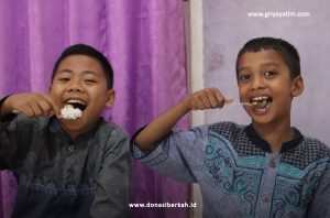 Bantu Gizi Untuk Anak Yatim & Dhuafa