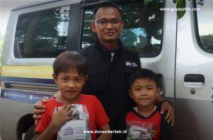Bantuan Nutrisi Untuk Anak-anak Yatim dan Dhuafa Kampung Setu - Tangsel