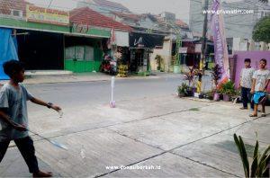 Anak Yatim Bermain Badminton