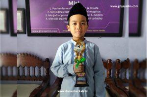 Anak Yatim Juara 1 Lomba Adzan