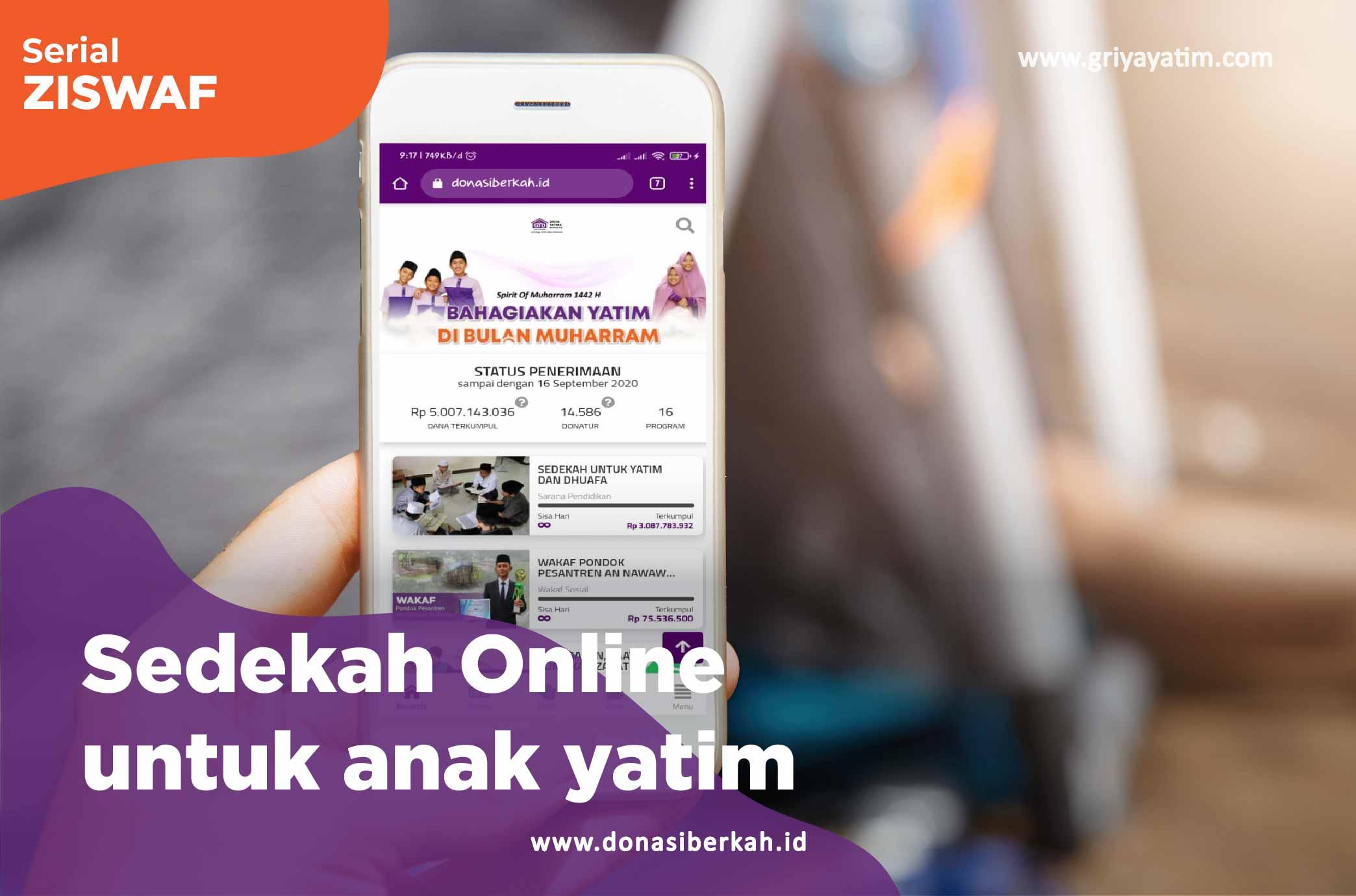 Sedekah Online Anak Yatim