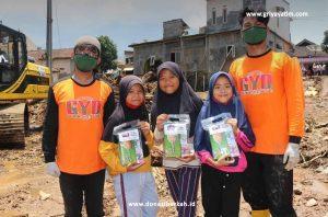 Bantuan Nutrisi untuk Anak Korban Bencana Sukabumi