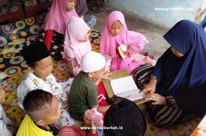 Berbagi Pangan Untuk Guru Ngaji Pelosok