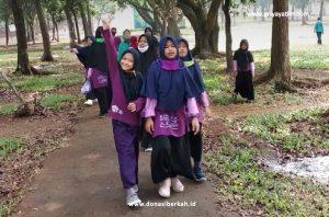 Jalan Pagi Bersama Anak Asuh Cibubur