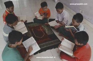 Sedekah Yatim Untuk Penghafal Al-Qur'an
