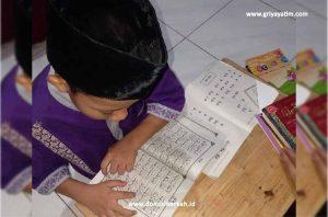 Semangat Belajar Iqro Anak Asuh Suryo