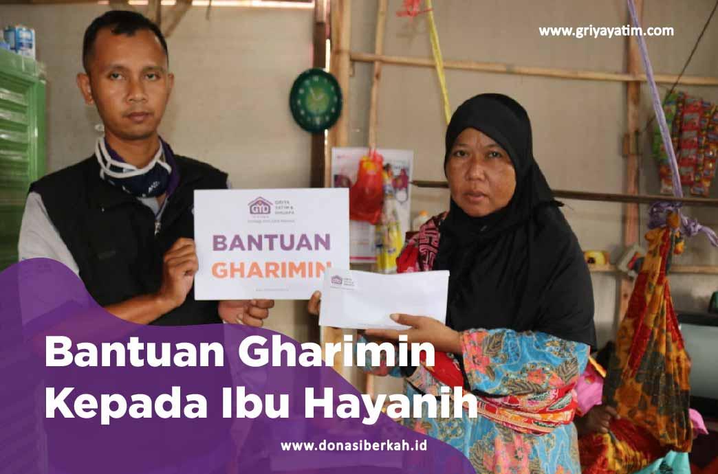 Bantuan Gharimin Kepada Ibu Hayani