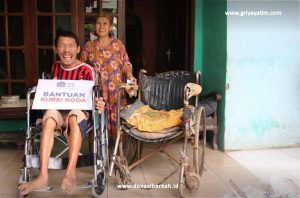 Senyum Kebahagiaan Ibu Siti Dan Asep