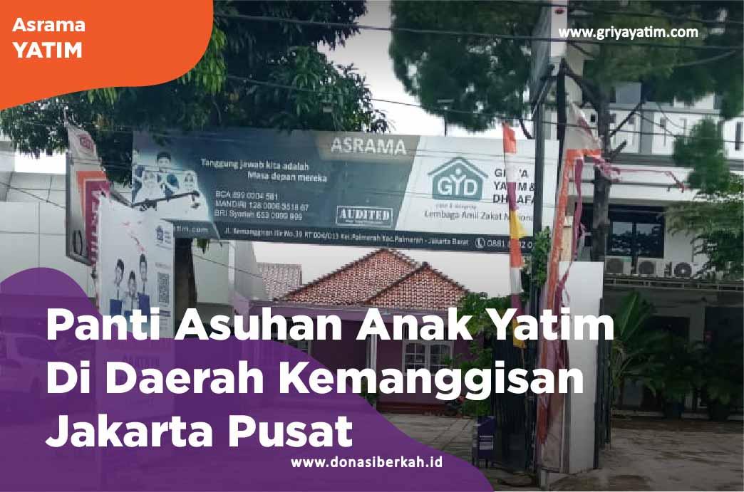 Panti Asuhan Anak Yatim Di Daerah Kemanggisan Jakarta Pusat