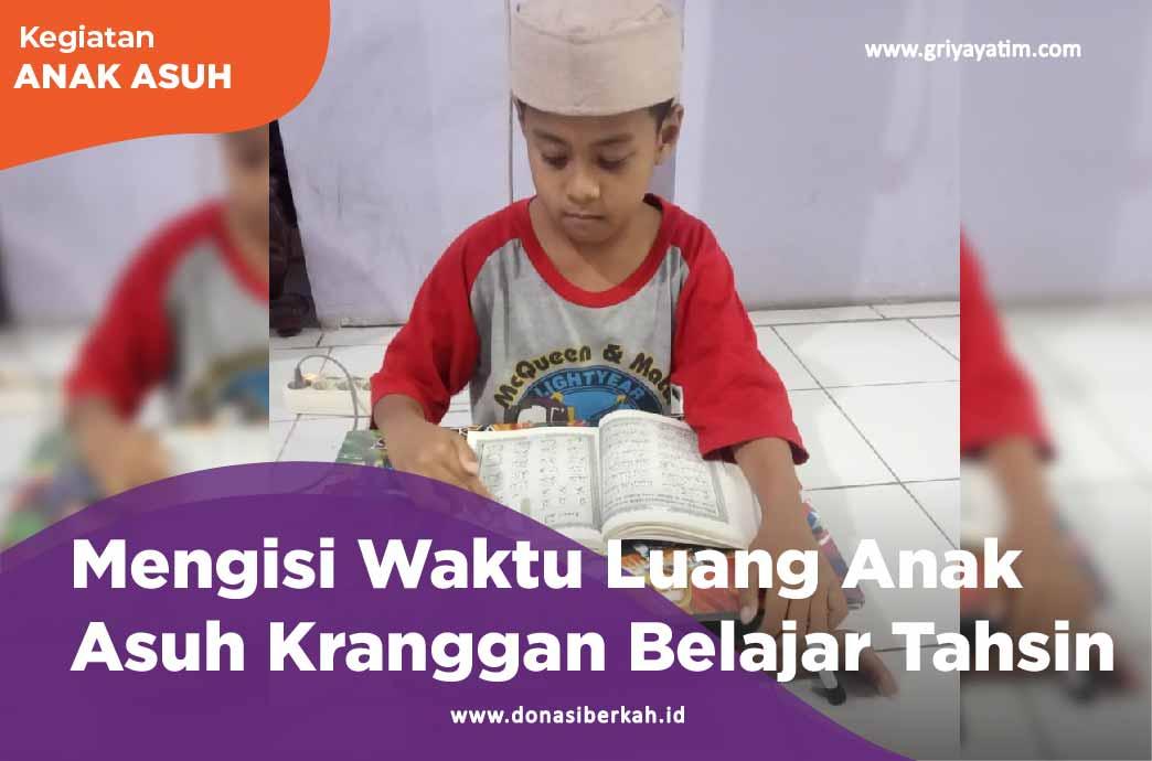 Mengisi Waktu Luang Anak Asuh Kranggan Belajar Tahsin