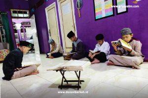 Semangat Tadarus Bersama Anak Asuh Banjarmasin