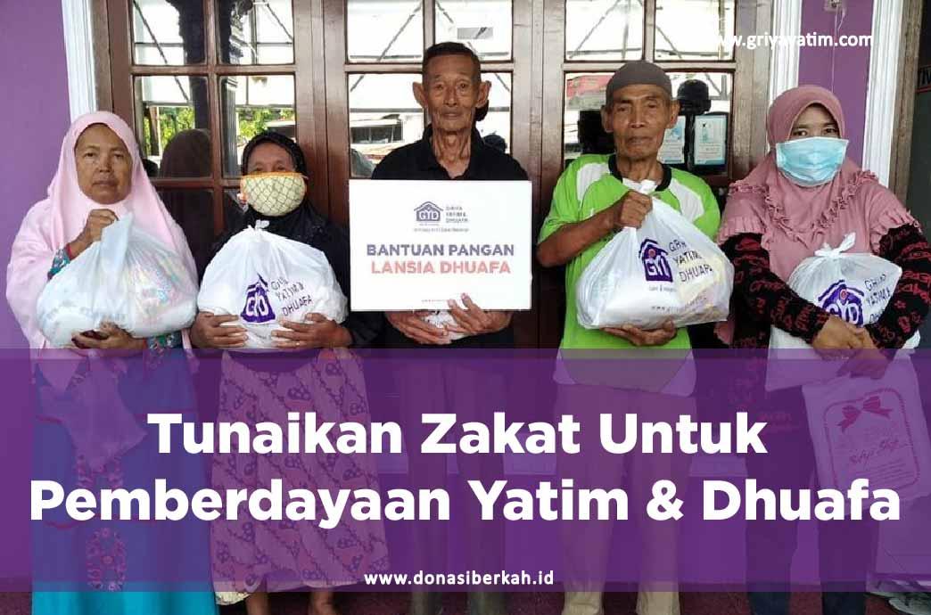 Tunaikan Zakat Untuk Pemberdayaan Yatim & Dhuafa