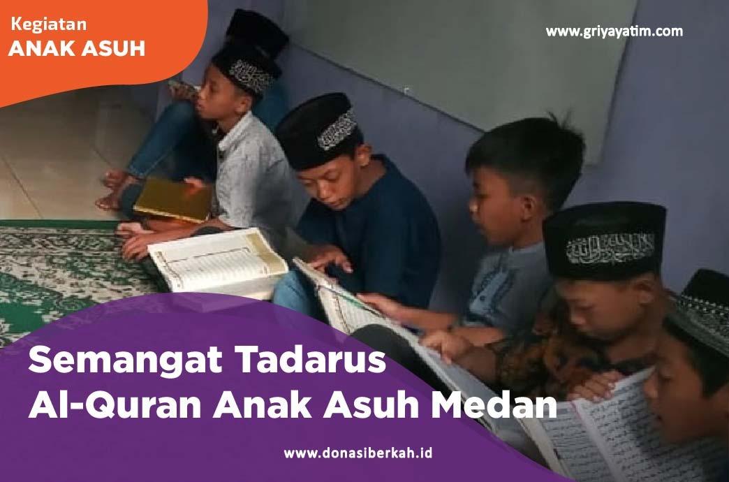 Semangat Tadarus Al-Qur'an Anak Asuh Medan