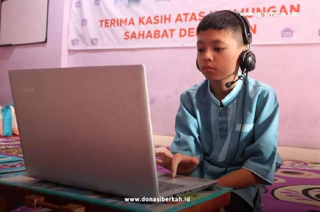 Bersama Patungan Laptop Untuk Pendidikan Yatim & Dhuafa