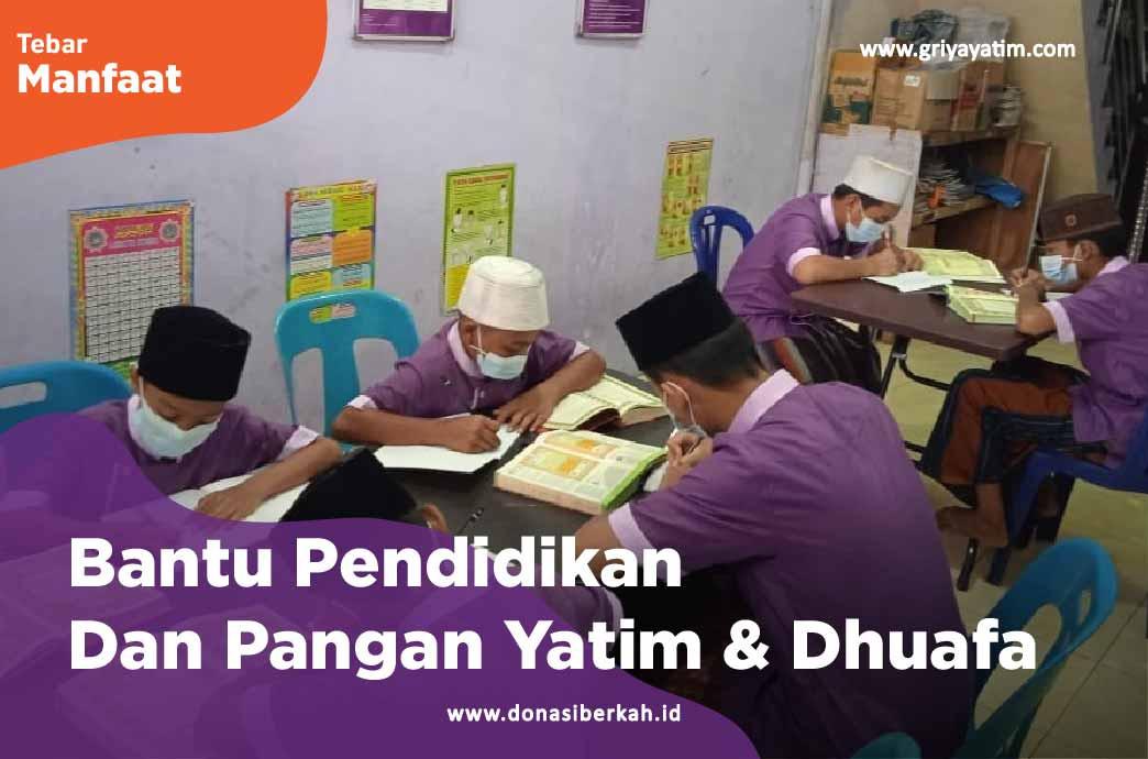 Bantu Pendidikan Dan Pangan Yatim & Dhuafa