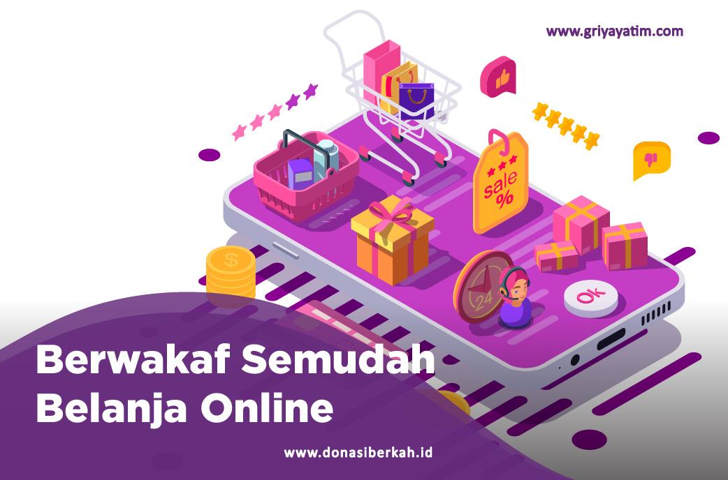 Berwakaf Semudah Belanja Online