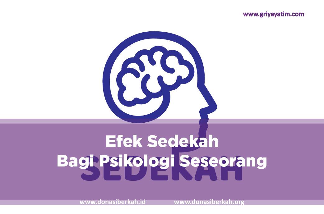 Efek Sedekah Bagi Psikologi Seseorang