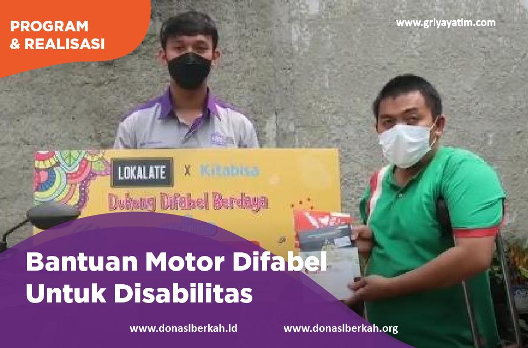 Bantuan Motor Difabel Untuk Disabilitas