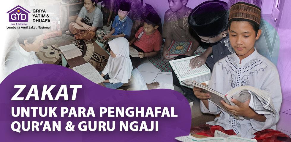Zakat Penghafal Quran